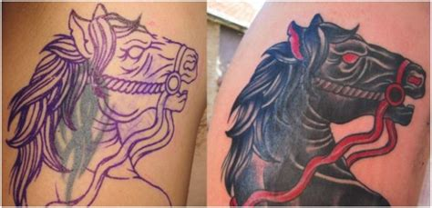 tattoo collage maker 10 most creative fixed tattoo before and after all for