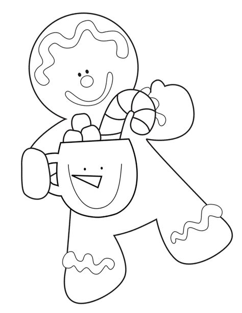 1000 Ideas About Gingerbread Man Template On Pinterest Gingerbread Boy And Coloring Pages Free