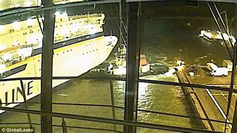 tugboat positions tiny tugboat rescues ferry from deadly crash in finland