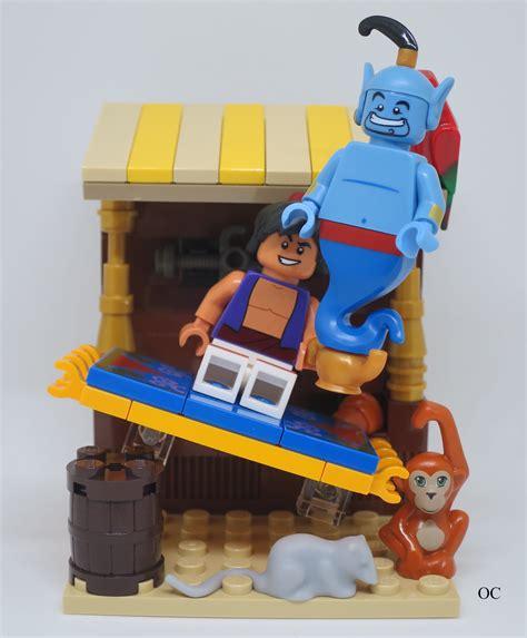 Lego Minifigure Disney Series Genie lego genie minifigures vignette 8x8 lego disney lego vignettes and