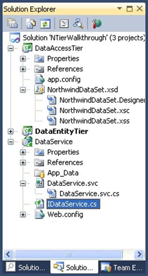 creating asp net applications with n tier architecture presentation tier images frompo 1
