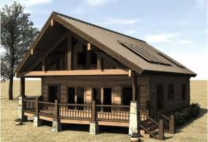 cabin house plans covered porch cabins cottages