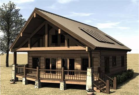 House Plans With Covered Porch | cabin house plans covered porch cabins cottages