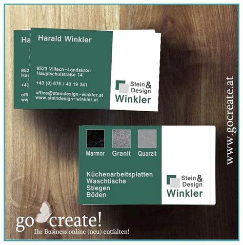 Visitenkarten Erstellen Günstig by Visitenkarten Design Erstellen