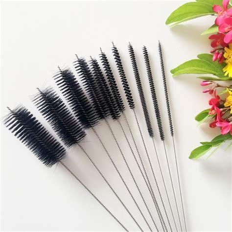 10 Pcs Airbrush Penbrush Spray Gun Cleaning Kit Set 10pcs set airbrush cleaning brush needle spray gun