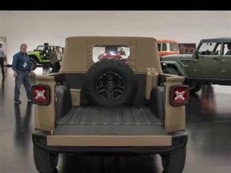 jeep renegade comanche pickup jeep renegade comanche pickup concept youtube