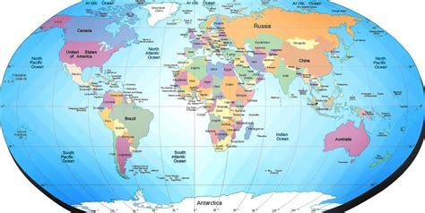 maps about the world world map