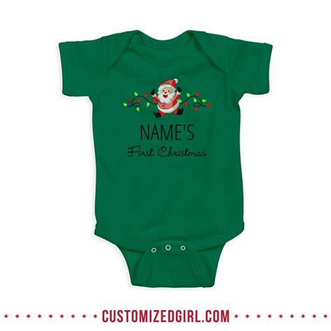 Handmade Onesies - custom baby onesies for the holidays