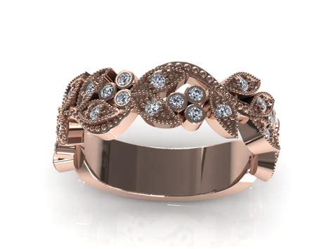 Cincin White Luxury Ring 020 c3d ring 020 3d model 3d printable stl 3dm cgtrader