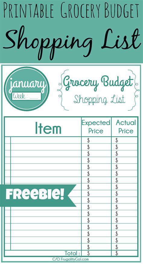 printable grocery list with prices printable grocery list savor savvy