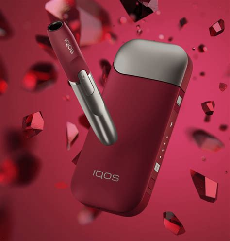 2 4 Plus Iqos Limited Edition Ruby iqos sigara is箟tma cihaz箟 2 4 plus ruby limited edition sigara tech