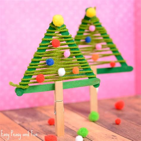 christmas tree diy art for kids festive crafts for tons of and