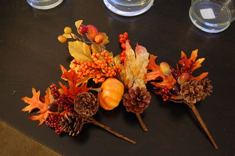 home made fall decorations fall table decor made2style