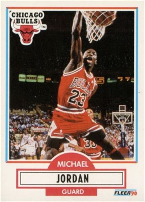 Michael Rookie Of The Year Card Mba Hoops by 1990 Fleer Michael 26 Basketball Card Value Price