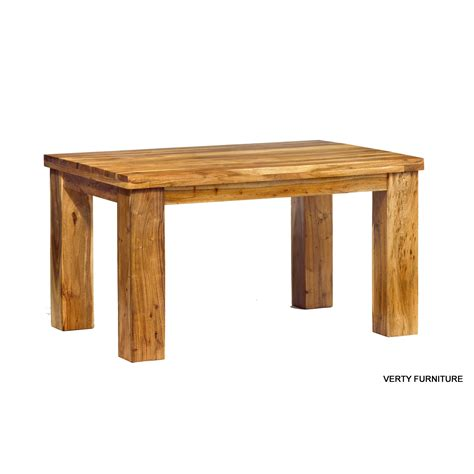 acacia dining table small with 4 chairs verty indian