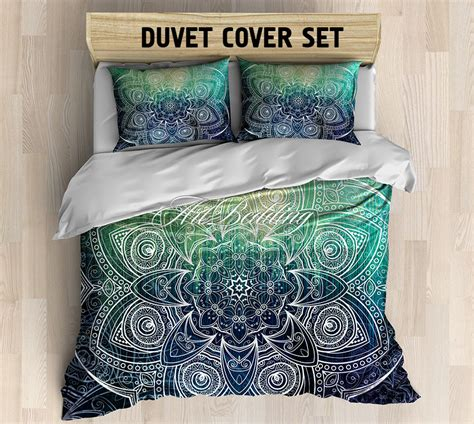 boho twin bedding mandala bedding boho duvet cover set mandala bedroom decor dorm room bedding set