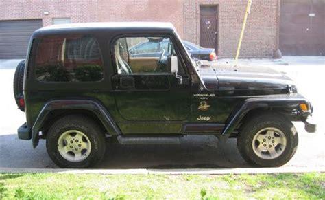 small jeep wrangler jeep wrangler sahara 2001 cartype