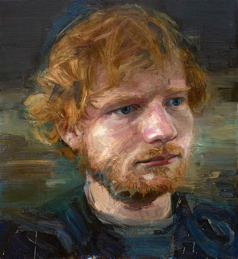 london portrait of a ed sheeran at dunedin 3 concerts march 2018 what if dunedin