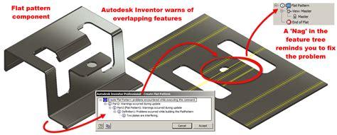 flat pattern drawing inventor graitec autodesk inventor flat pattern success