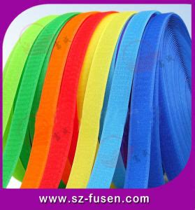 colored velcro china colored velcro fastener for garment shoes bags