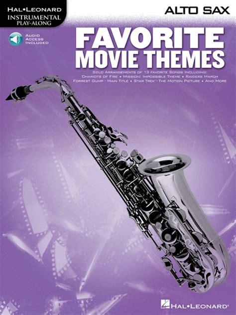 Favorite Alto favorite themes alto sax sheet by various