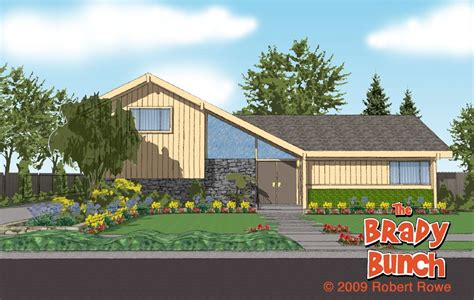 brady bunch house brady bunch house tv land pinterest