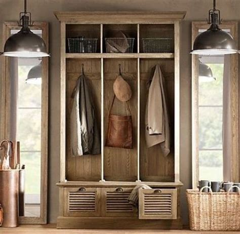 Front Entrance Coat Storage 75 Clever Hallway Storage Ideas Digsdigs