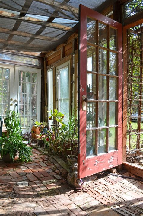 Greenhouse From Salvaged Windows Decor Surprising Greenhouse Decorating Ideas
