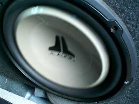 Speaker Subwoofer Acoustic 12 Inch 1995 chevy s10 with 2 jl audio 12 inch subwoofers