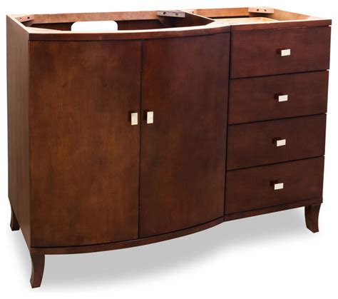 Hardware Resources Van067 48 Wood Vanity Without Top 48 Bathroom Vanity Without Top