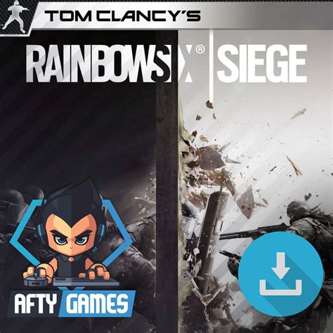 Pc Original Rainbow Six Siege Cd Key Uplay tom clancy s rainbow six siege pc uplay code global cd key