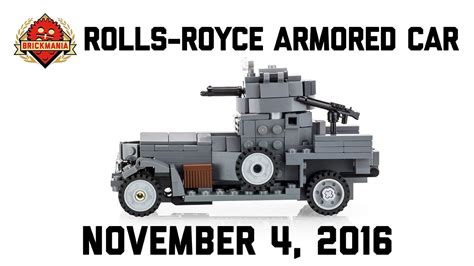 lego rolls royce armored car rolls royce armored car custom lego