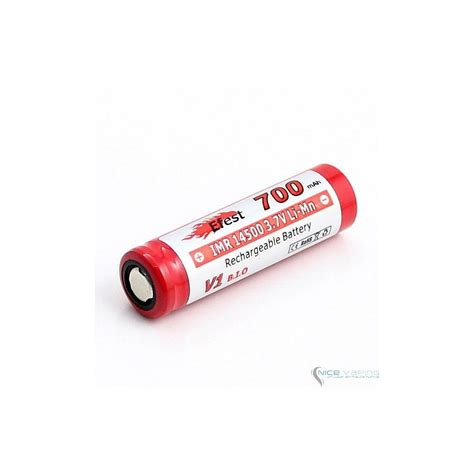 Efest Imr 14500 Battery 650mah 3 7v 9 75a With Flat Top 14500v1 efest imr 14500 700mah limn high drain battery flat top nicevaping store mexico