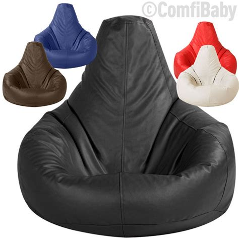 bean bag armchair beanbag gamer chair adult gaming bean bag faux leather