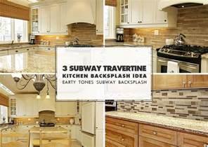 Subway Kitchen Backsplash brown travertine backsplash tile subway plank backsplash com