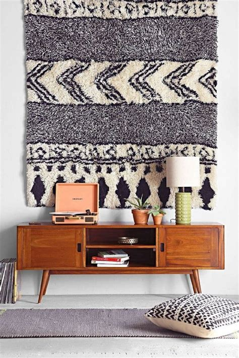 hang rug on wall mounting your rug as a wall hanging