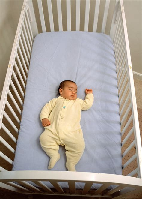 Babies Sleeping In Crib Safe Infant Sleep Environment
