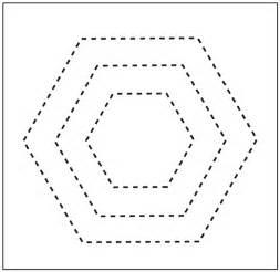 quilting hexagon templates free plastic hexagon quilting templates website of babiaire