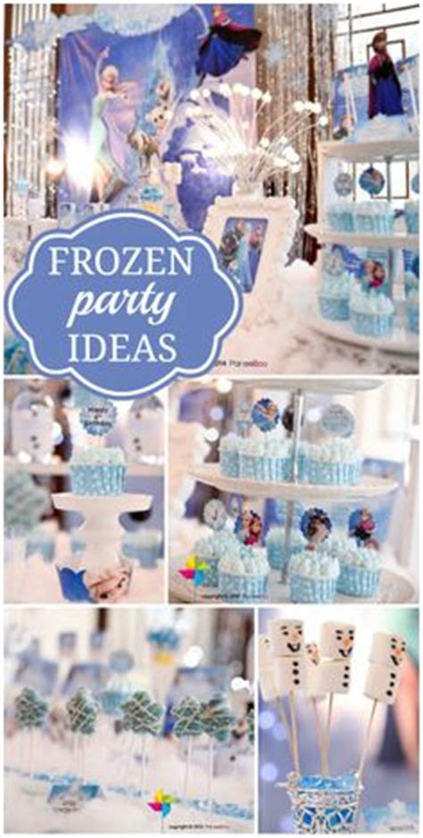 frozen themed party venue venue set up frozen themed birthday party pinterest