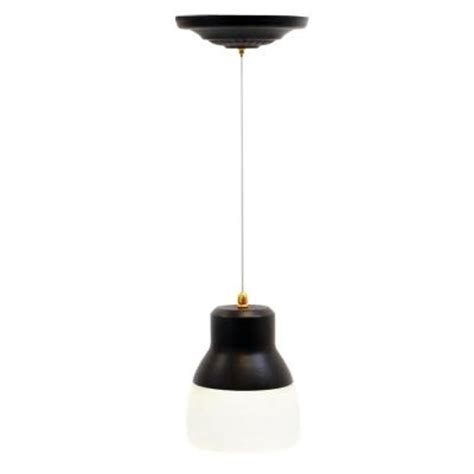 Battery Operated Ceiling Light It S Exciting Lighting 24 Light Bronze Led Battery Operated Ceiling Pendant With Frosted Glass