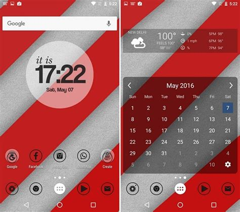 nova launcher pink themes 10 cool nova launcher themes that look amazing beebom