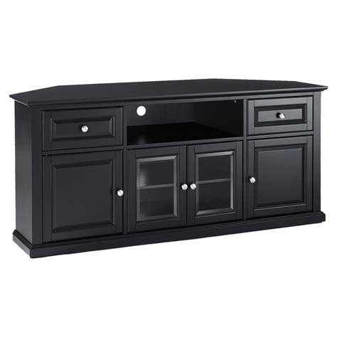 60 Tv Cabinet by 60 Quot Corner Tv Stand Black Dcg Stores