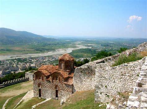 Hang Art Blick Auf Die Kirche Shen Triadha In Der Festung Von