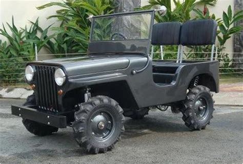 mini jeep car half scale cars
