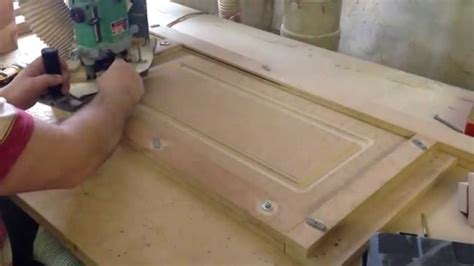Adding Trim To Cabinet Doors Feb 5 2015 Making Mdf Doors Youtube