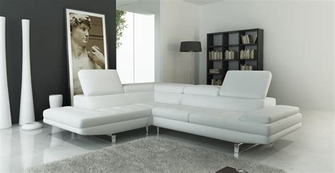 white sectional sofa 959 modern white italian leather sectional sofa