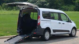 Connected Cars Ford Ford Transit Connect Rear Entry Wheelchair Mobility