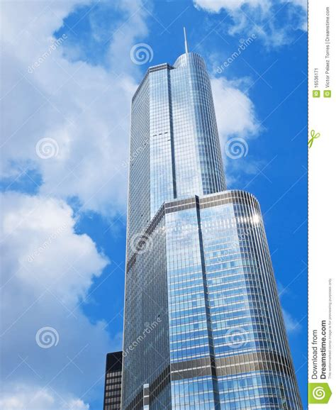 big tower big tower in chicago stock image image 16536171