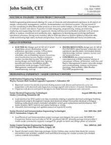 Electrical Engineer Resume Exle by Click Here To This Electrical Engineer Resume Template Http Www Resumetemplates101