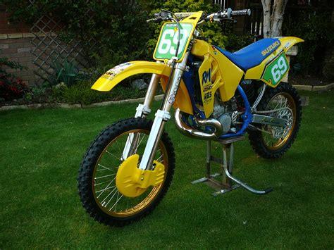 suzuki rm250 1989 russb s bike check vital mx